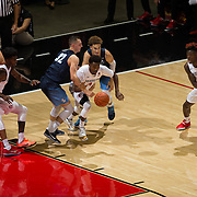 11 November 2016: The San Diego State Aztecs men's basketball team opens up the regular season against cross town rival University of San Diego. www.sdsuaztecphotos.com