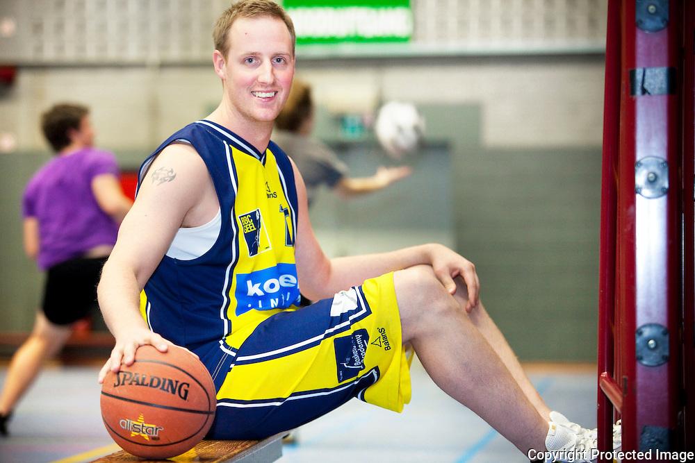 370220-Dimitri Massot basketballer bij BC Geel-Sporthal Axion Geel