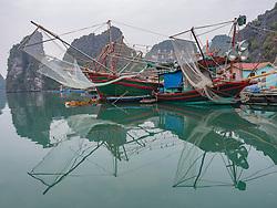 Asia, Vietnam, Vung Vieng fishing village, Bái Tu Long Bay, Bái Tu Long National Park