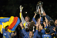 14/12/03 - YOKOHAMA - JAPAN - TOYOTA INTERCONTINENTAL FINAL MATCH - BOCA Jrs. Vs. MILAN A.C. at the YOKAHOMA STADIUM.<br />