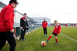 Bristol City Women's mascot warms up - Mandatory byline: Rogan Thomson/JMP - 14/02/2016 - FOOTBALL - Stoke Gifford Stadium - Bristol, England - Bristol City Women v Queens Park Rangers Ladies - SSE Women's FA Cup Third Round Proper.
