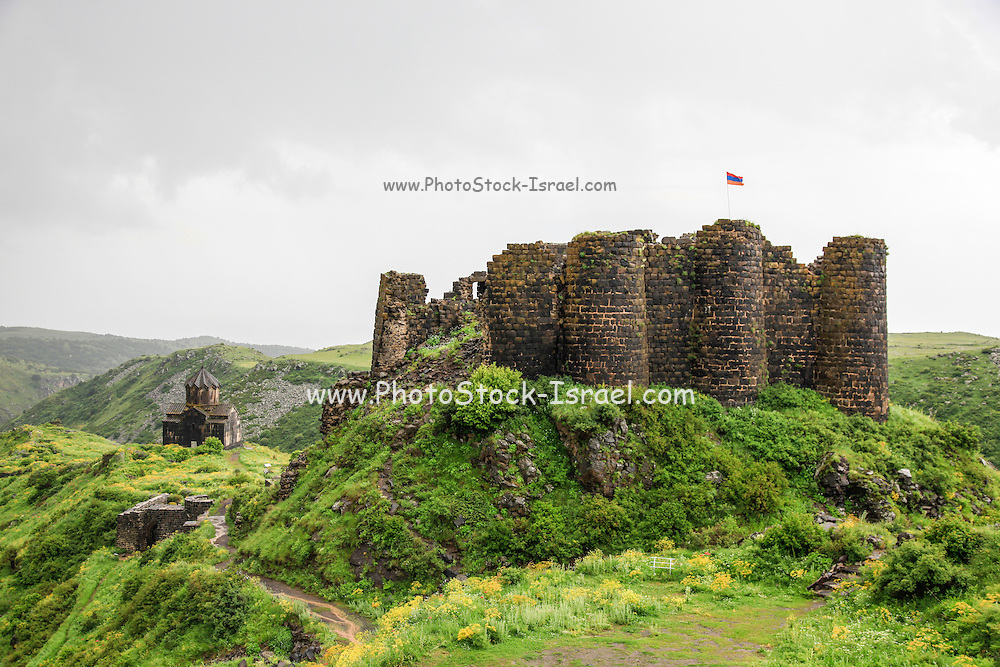 7th century Amberd fortress, Aragatsotn Province, Armenia