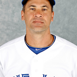 March 2, 2012; Dunedin, FL, USA; Toronto Blue Jays shortstop Omar Vizquel (17) poses for a portrait during photo day at Florida Auto Exchange Stadium.  Mandatory Credit: Derick E. Hingle-US PRESSWIRE