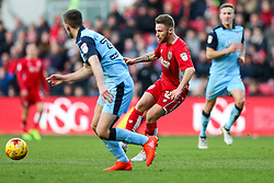 Matty Taylor of Bristol City - Rogan Thomson/JMP - 04/02/2017 - FOOTBALL - Ashton Gate Stadium - Bristol, England - Bristol City v Rotherham United - Sky Bet Championship.