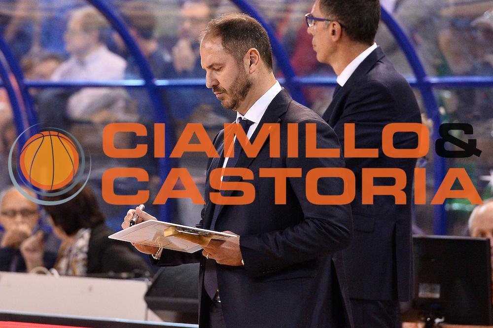 Andrea Diana<br /> Germani Basket Brescia - Red October Cantu'<br /> LegaBasket 2016/2017<br /> Brescia 09/10/2016<br /> Foto Ciamillo-Castoria
