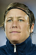 FRISCO, TX - JANUARY 31:  Abby Wambach #20 of the U.S. Women's National Team looks on before an international friendly against the Canadian Women's National Team on January 31, 2014 at Toyota Stadium in Frisco, Texas.  (Photo by Cooper Neill/Getty Images) *** Local Caption *** Abby Wambach