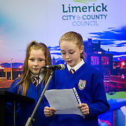 08/12/2015                <br /> Limerick City & County Council launches Ireland 2016 Centenary Programme<br /> <br /> An extensive programme of events across the seven programme strands of the Ireland 2016 Centenary Programme was launched at the Granary Library, Michael Street, Limerick, last night (Monday, 7 December 2015) by Cllr. Liam Galvin, Mayor of the City and County of Limerick.<br /> <br /> Led by Limerick City & County Council and under the guidance of the local 1916 Co-ordinator, the programme is the outcome of consultations with interested local groups, organisations and individuals who were invited to participate in the planning and implementation of events and initiatives during 2016.  <br /> <br /> Pictured at the event was Kaitlin McNamara, St. Patricks Girls NS.. Picture: Alan Place