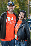 Jeff and Niki Mendow at the first annual Abita Fall Fest in Abita Springs Park on November 2, 2019; photo ©2019, George H. Long