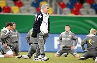 Fotball, 10. februar 2009 ,Trening foran privat-kampen mellom Norge og Tyskland<br /> Egil Olsen , Drillo trener Norge ,