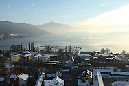 View from the Skylounge Bar on Zug / Vue de Zug depuis le Skylounge Bar