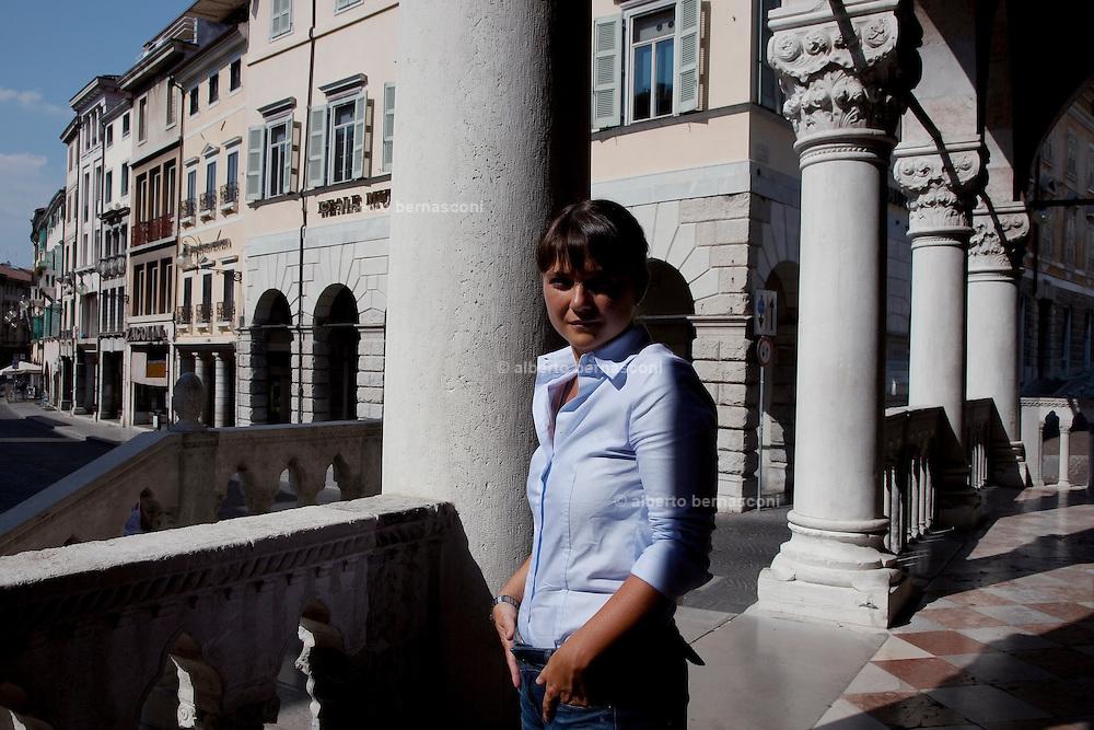 Udine, la deputata del PD Debora Serracchiani, presidente della regione Friuli