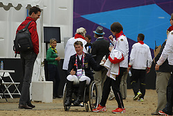 Näpel, Britta;<br /> Thielen, Anne-Kareen, <br /> London Paralympics 2012<br /> Grade II<br /> © www.sportfotos-lafrentz.de/ Stefan Lafrentz