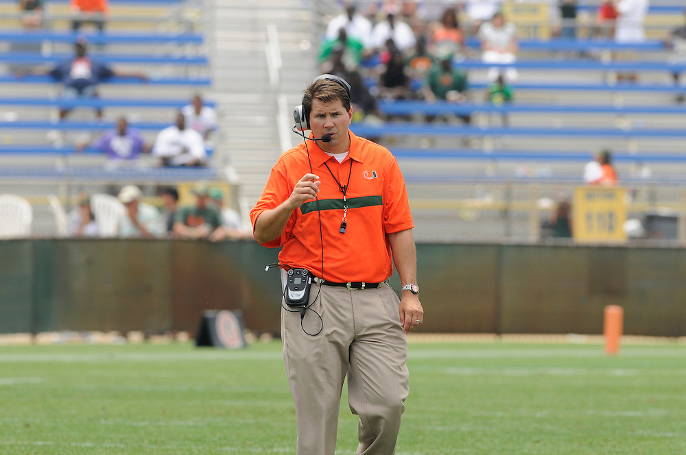 2011 Miami Hurricanes Spring Football @ Lockhart Stadium