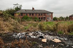 Run down housing estate, Sheffield