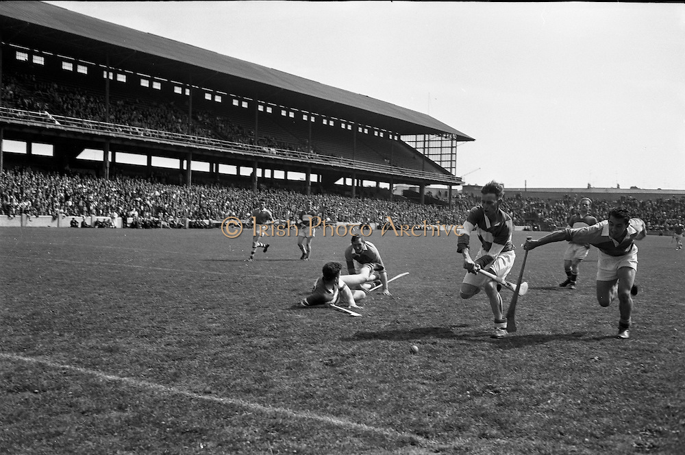Senior Hurling at Croke Park, Wexford v Laois..08.07.1962
