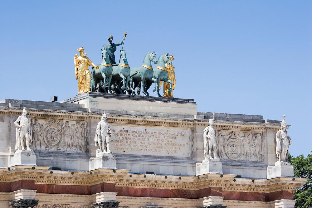Arc de Triomphe du Carrousel, Paris, France<br />
