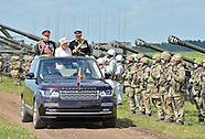 Queen Elizabeth Celebrates Royal Artillery Tercentenary