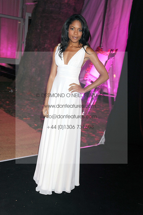 NAOMI HARRIS at the End of Summer Ball in support of The Prince's Trust in Berkeley Square, London on 25th September 2008.