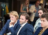 LOOSDRECHT - Lancering Sport Helpt, een initiatief van hockeyers Rogier Hofman en Tim Jenniskens. FOTO KOEN SUYK