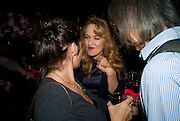 TRACEY EMIN; JERRY HALL; IVOR BRAKA Cloak and Dagger, - Amanda Eliasch - book launch - Entertainment by Miss Polly Rae and her Hurly Burly girls. <br />