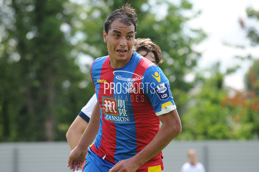 *Marouane Chamakh in action during the U21 Professional Development League match between U21 Crystal Palace and U21 Bolton Wanderers at Selhurst Park, London, England on 17 August 2015. Photo by Michael Hulf.