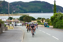 Ellen van Dijk (NED) resumes setting the pace on the front at OVO Energy Women's Tour 2018 - Stage 5, a 122 km road race from Dolgellau to Colwyn Bay, United Kingdom on June 17, 2018. Photo by Sean Robinson/velofocus.com