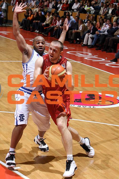 DESCRIZIONE : Girona EuroCup Final Four 2007 Finale Azovmash Mariupol Akasvayu Girona<br /> GIOCATORE : Marinovic<br /> SQUADRA : Akasvayu Girona<br /> EVENTO : EuroCup Final Four 2007 <br /> GARA : Girona EuroCup Final Four 2007 Finale Azovmash Mariupol Akasvayu Girona<br /> DATA : 15/04/2007 <br /> CATEGORIA : Penetrazione<br /> SPORT : Pallacanestro <br /> AUTORE : Agenzia Ciamillo-Castoria/E.Castoria<br /> Galleria : Fiba Eurocup 2006-2007 <br /> Fotonotizia : Girona EuroCup Final Four 2007 Finale Azovmash Mariupol Akasvayu Girona<br /> Predefinita :
