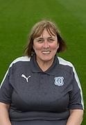 Aug 1st 2017, Dens Park, Dundee, Scotland; Dundee team shoot; Dundee Fc kit co-ordinator Lorraine Noble