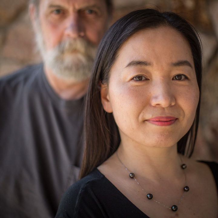 Artists Don Moore and Esther Hong, Anchorage