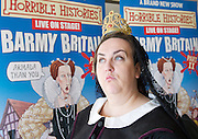 Horrible Histories <br /> live on stage <br /> Barmy Britain <br /> part II<br /> press launch <br /> at Kensington Palace, London, Great Britain <br /> 23rd April 2013 <br /> <br /> with<br /> <br /> Neal Foster <br /> and<br /> Alison Fitzjohn <br /> <br /> Photograph by Elliott Franks