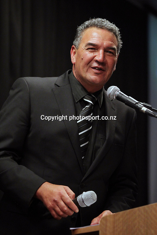 Dale Husband at the 2012 New Zealand Rugby League Awards at Westpac House, Britomart, Auckland Wednesday, November 7