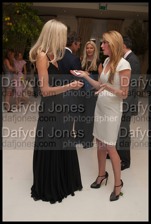 OPHELIA HOHLER; LINN NORTROM WEILE, Cartier dinner in celebration of the Chelsea Flower Show. The Palm Court at the Hurlingham Club, London. 19 May 2014.