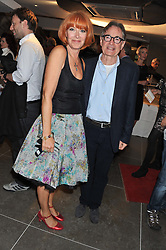 FIONA MOLLISON and DAVID GILMORE Artistic Director St.James Theatre at the opening of the new St.James Theatre, 12 Palace Street, London SW1 on 13th September 2012.