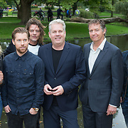 NLD/Amsterdam/20150921 - Persviewing Sbs Programma's  Dokter Tinus en Bureau Raampoort, Thom Hoffman, Jennifer Hoffman, Tygo Gernandt, Job Bovelander, Thomas Acda en Tim Haars