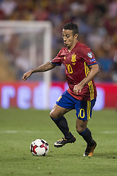 October 6, 2017 - Alicante, Spain - Thiago Alcantara (Bayern Munchen) during the qualifying match for the World Cup Russia 2018 between Spain and Albaniaat the Jose Rico Perez stadium in Alicante, Spain on October 6, 2017. (Credit Image: © Jose Breton/NurPhoto via ZUMA Press)