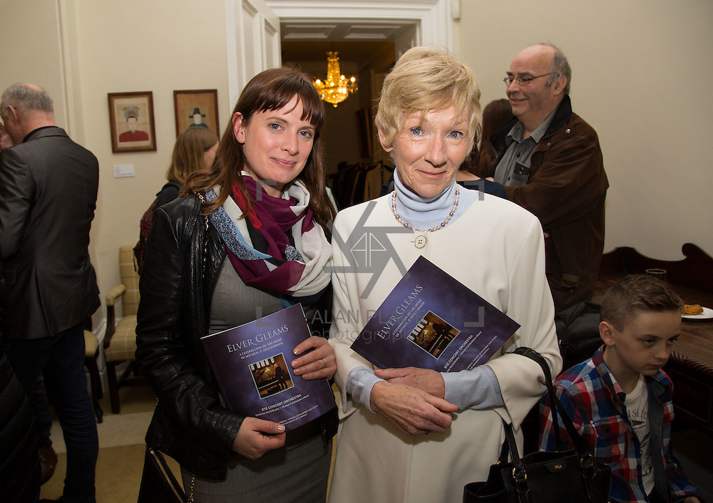 22.11.2016                   <br /> University of Limerick (UL) hosted a gala concert celebrating the music of renowned composer M&iacute;che&aacute;l &Oacute; S&uacute;illeabh&aacute;in.<br /> <br /> Pictured at a special reception before the concert were, Elke Kinsella and Mary Kinsella.<br /> <br /> <br /> The RT&Eacute; Concert Orchestra, conducted by David Brophy, performed with M&iacute;che&aacute;l and a selection of special guests in University Concert Hall Limerick. Picture: Alan Place