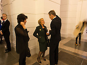 ANDREAS STARK; MARGARET HODGE; SIR NICHOLAS SEROTA, Tate Britain reopening party. Tate Britain. 18 November 2013
