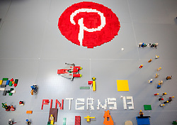 Scenes from Pinterest Headquarters in San Francisco, California.