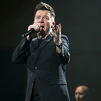 Rick Astley in concert at The Royal Concert Hall, Glasgow Scotland, Great Britain 23rd March 2017