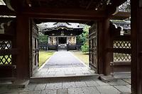 Konchi-in, historic Japanese temple, a sub-temple of Nanzen-ji temple complex in Sakyo-ku, Kyoto, Japan 2017