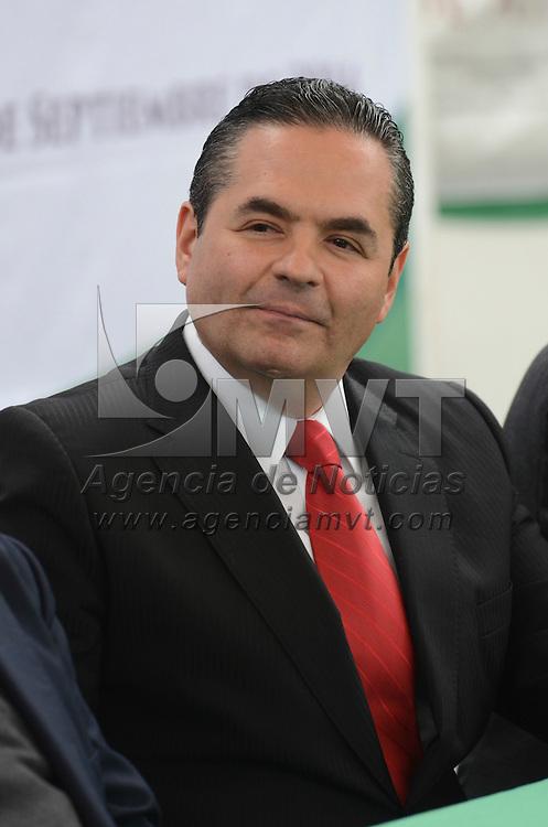 Toluca, México.- Edmundo Rafael Ranero Barrera, nuevo delegado federal de SEDESOL durante su presetación en la Instalaciones de la delegacion en Toluca. Agencia MVT / Arturo Hernández.
