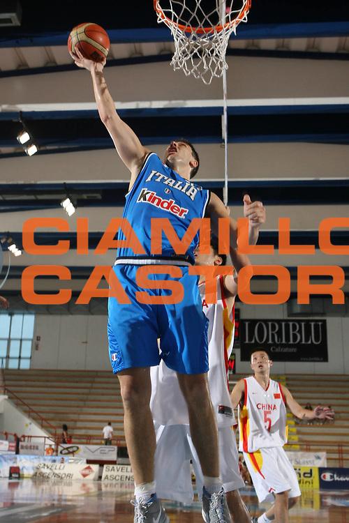 DESCRIZIONE : Porto San Giorgio Torneo Internazionale dell'Adriatico Italia-Cina Italy-China<br /> GIOCATORE : Michelori<br /> SQUADRA : Italy Italia<br /> EVENTO : Porto San Giorgio Torneo Internazionale dell'Adriatico Italia-Cina <br /> GARA : Italia Cina Italy China<br /> DATA : 02/07/2006 <br /> CATEGORIA : Rimbalzo<br /> SPORT : Pallacanestro <br /> AUTORE : Agenzia Ciamillo-Castoria/E.Castoria