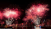 Macy's 4th of July Fireworks in New York City, New York on July 4, 2017.