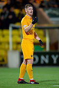 Alan Lithgow (#4) of Livingston FC during the Ladbrokes Scottish Premiership match between Livingston FC and Heart of Midlothian FC at the Tony Macaroni Arena, Livingston, Scotland on 14 December 2018.