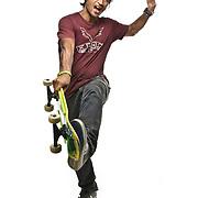 Pat Ngoho, pro skateboarder