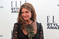 NATALIE MASSENET at the 17th Elle Style Awards 2014 in association with Warehouse held at One Embankment, 8 Victoria Embankment, London on 18th February 2014.