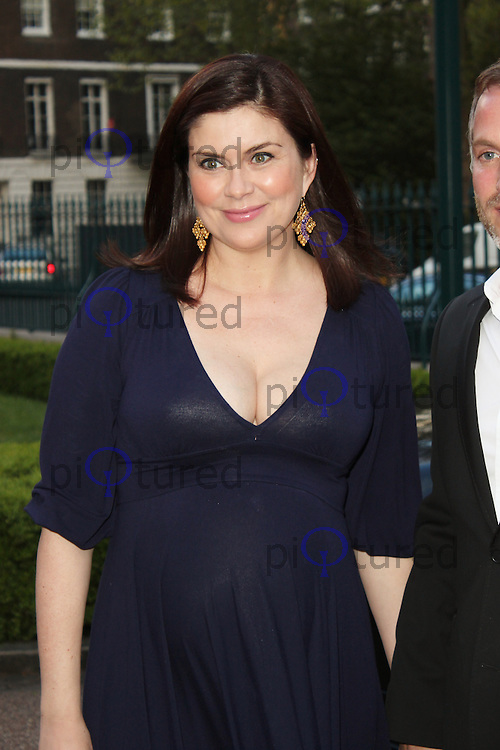 LONDON - May 15: Amanda Lamb at the Hello! Magaziine - 25th Anniversary Party (Photo by Brett D. Cove)