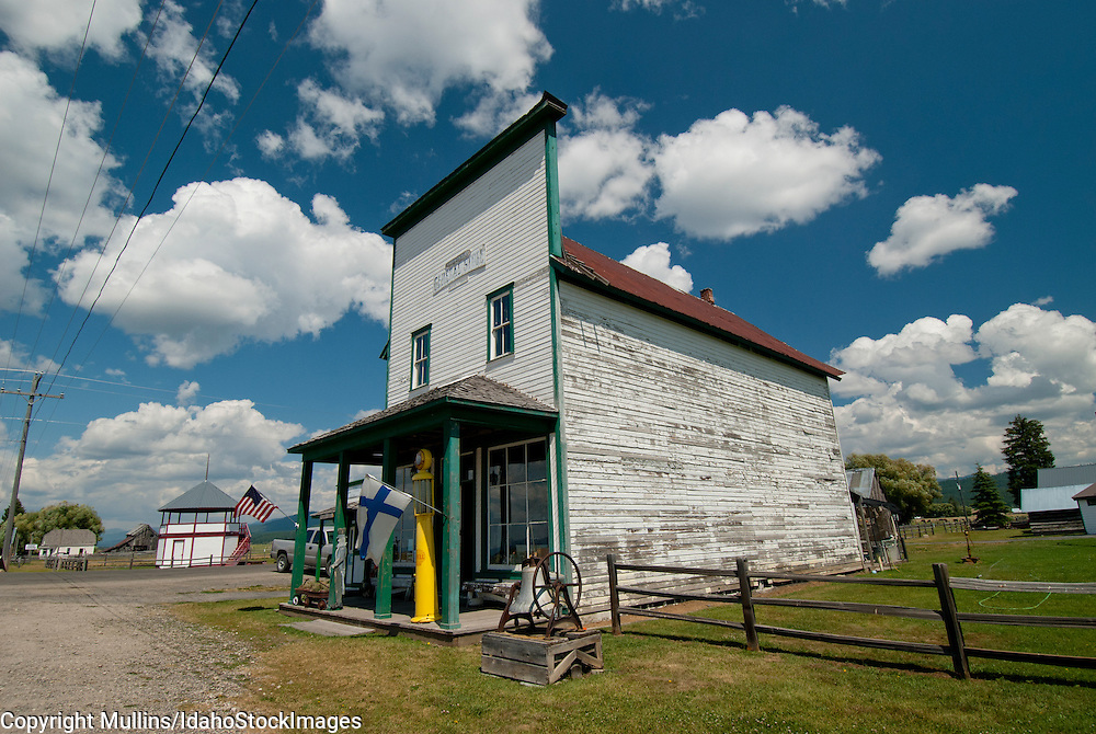 Historic Roseberry General Store near Donnelly in Valley County, Idaho
