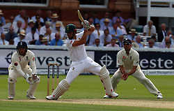 July 7, 2017 - London, United Kingdom - TB de Bruyn of South Africa .during 1st Investec Test Match between England and South Africa at Lord's Cricket Ground in London on July 07, 2017  (Credit Image: © Kieran Galvin/NurPhoto via ZUMA Press)