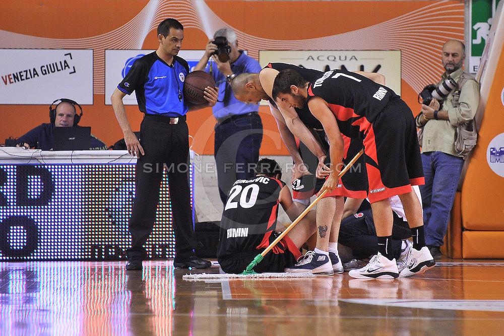 Udine, 06/05/2011..PalaCarnera. Campionato di Basket LegaDue 2010/11. Regular Season. .Snaidero Udine vs Immobiliare Spiga Rimini..Nella foto: Dusan Vukcevic..Foto di Simone Ferraro